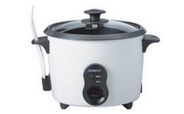 Cocina al vapor: hervidor, arrocera y cazuela