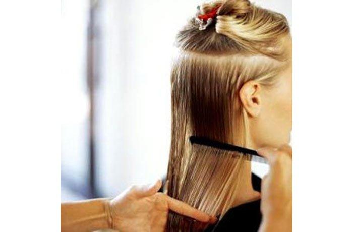 Plancha de pelo para un peinado a la ultima