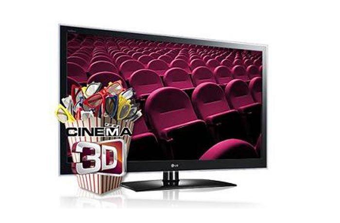 Televisor Cinema 3D de LG